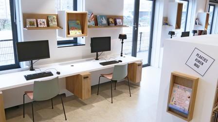 Project Bibliotheek Bouwlust Den Haag