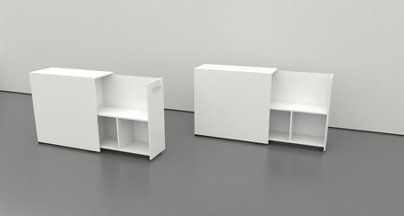 QUADRO Pull-Out Cabinet (LOW)