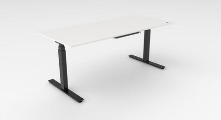 FLOW Desk incl. Fenix blad wit