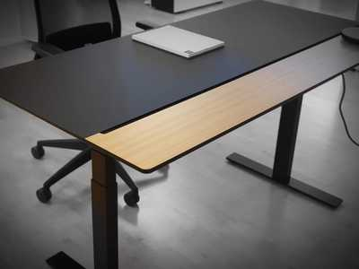 RAW DESK with Split Top