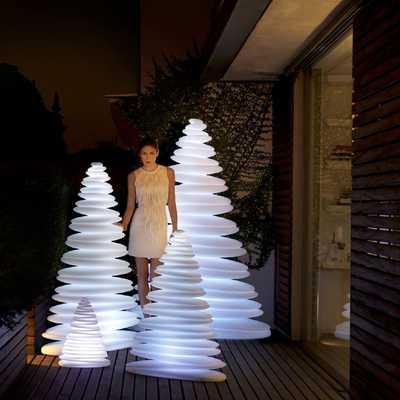 CHRISMY Tree 150cm LED RGBW