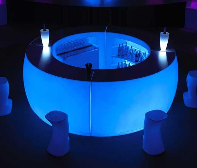 FIESTA Barra Curva LED