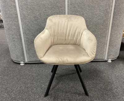 VELOURS Chair 2 stuks SHOWROOM MODEL