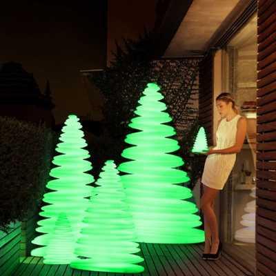 CHRISMY Tree 50cm LED RGBW