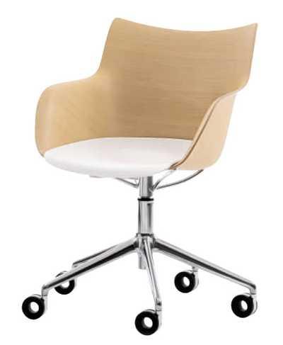 Q/Wood Bureaustoel