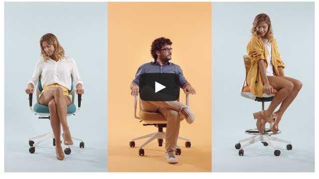 EFIT: De bureaustoel voor nieuwe generaties