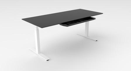 FLOW Desk incl. FENIX blad zwart