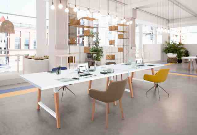 COHESION Coworking Tafels