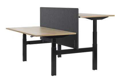 DESKLINE Bench - Black